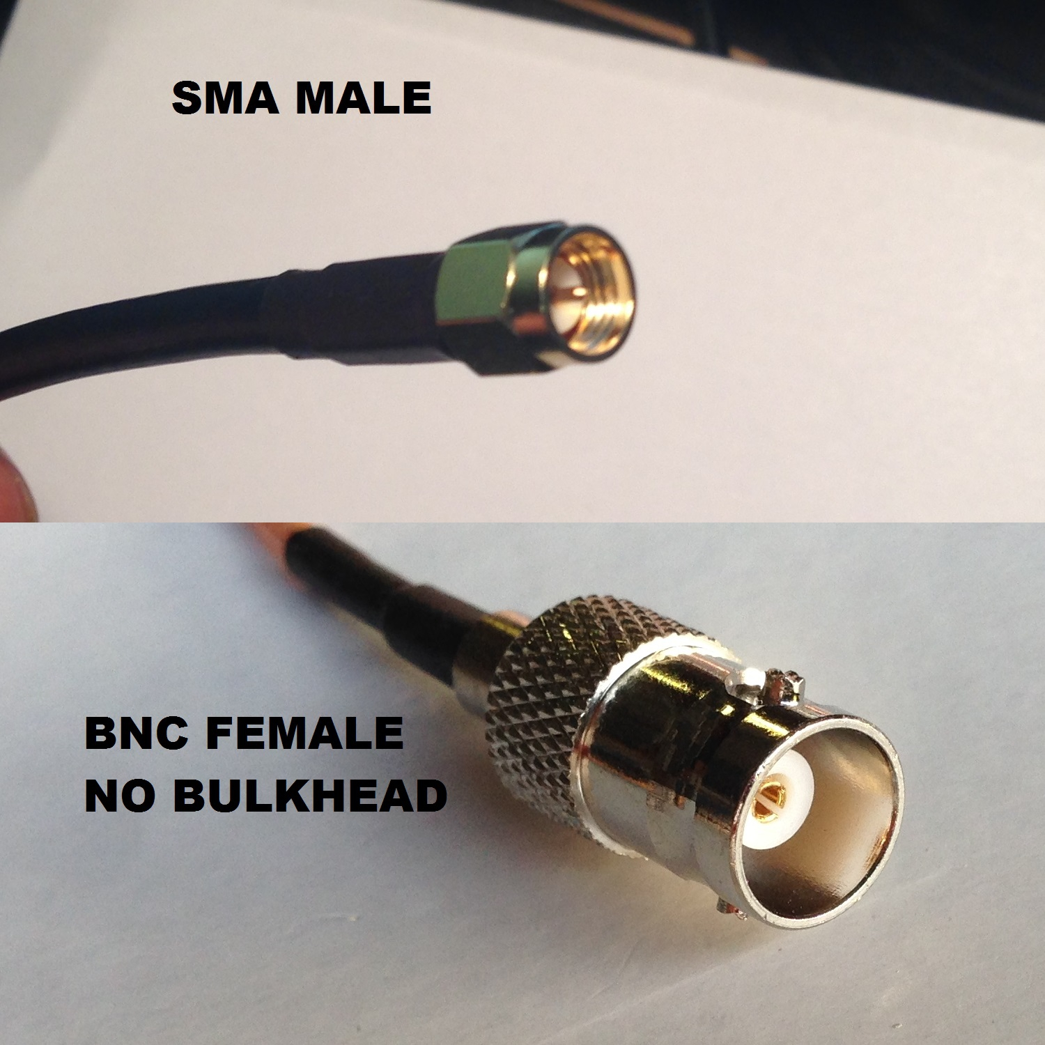 RG316 N MALE to SMA MALE Coaxial RF Cable USA-US