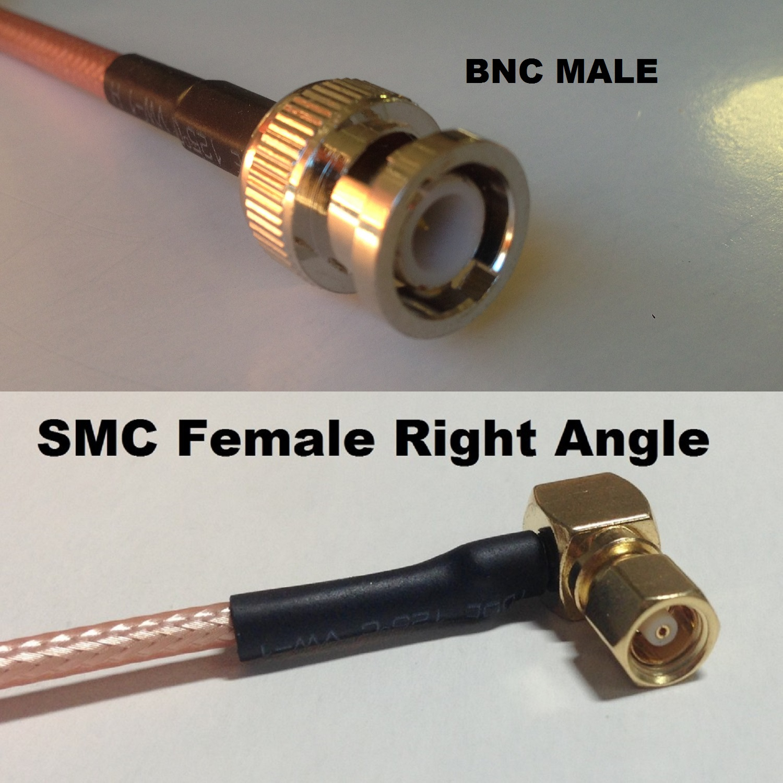 RG316 SMC MALE to SMC FEMALE Coaxial RF Cable USA-US