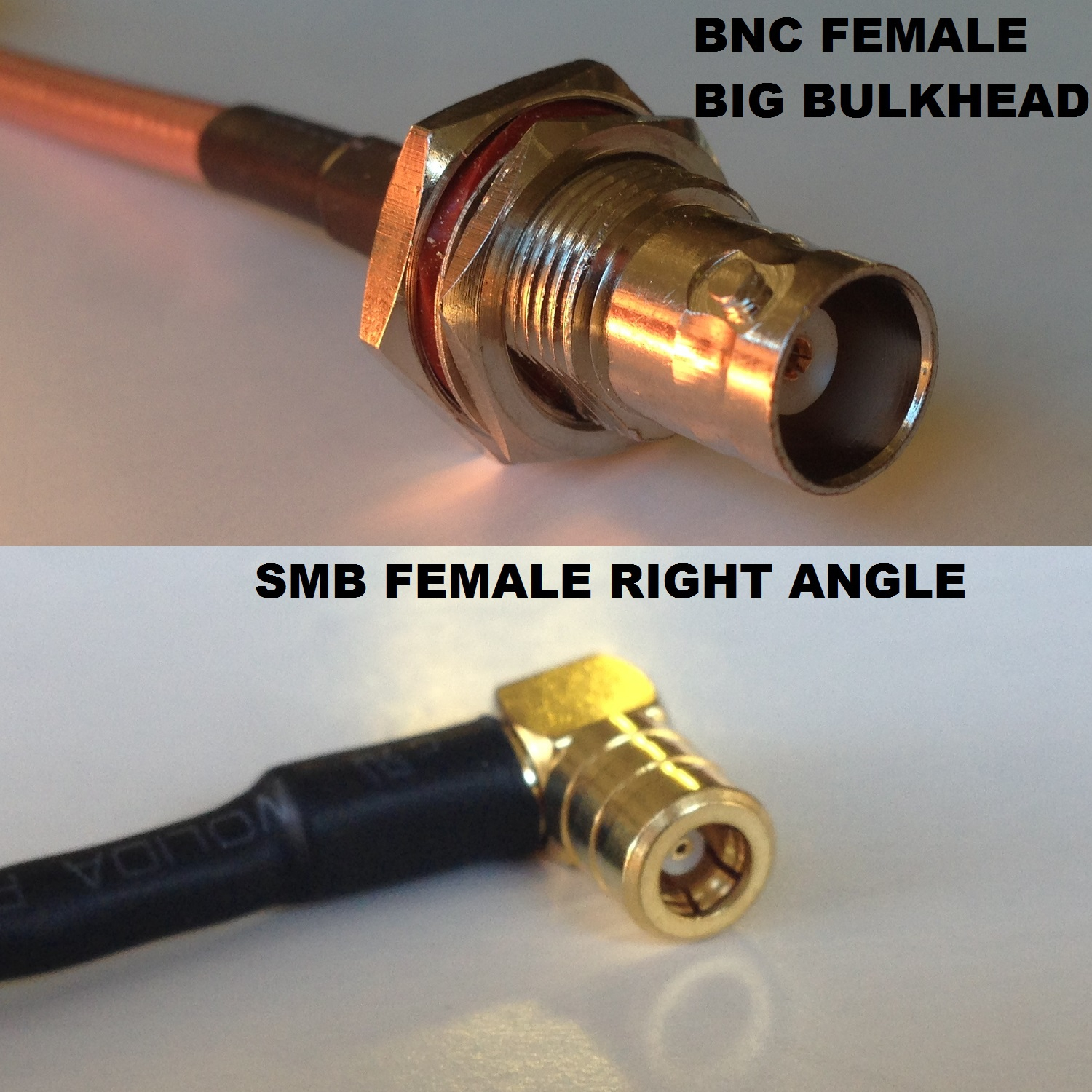 RG316 SMB MALE to SO239 UHF Female Coaxial RF Cable USA-US