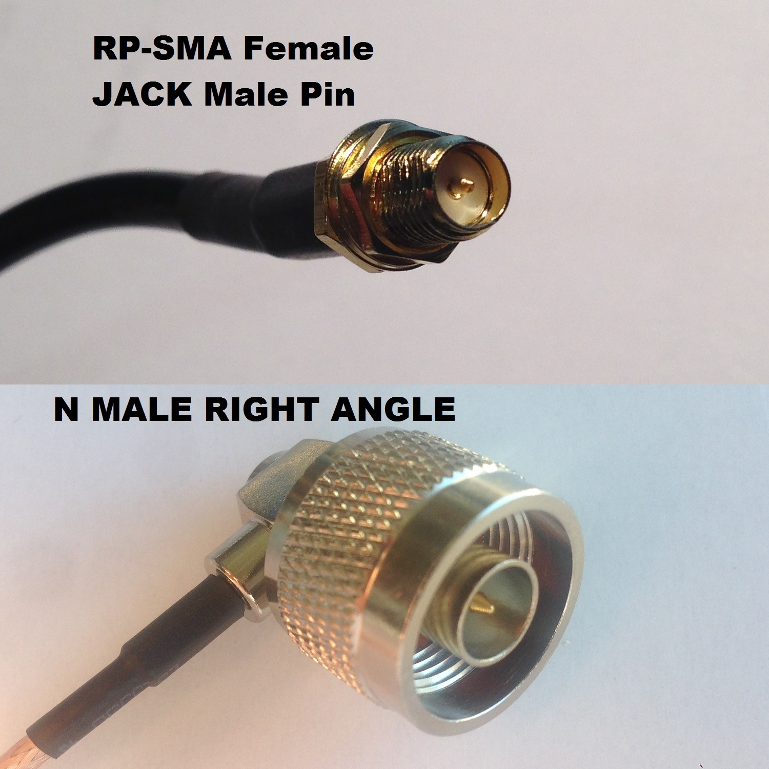 RG316 SMC MALE to N FEMALE Coaxial RF Cable USA-US
