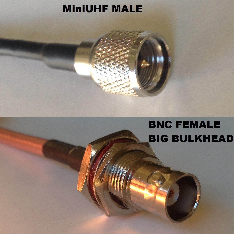 RG316 TNC MALE to MINI UHF FEMALE Coaxial RF Cable USA-US
