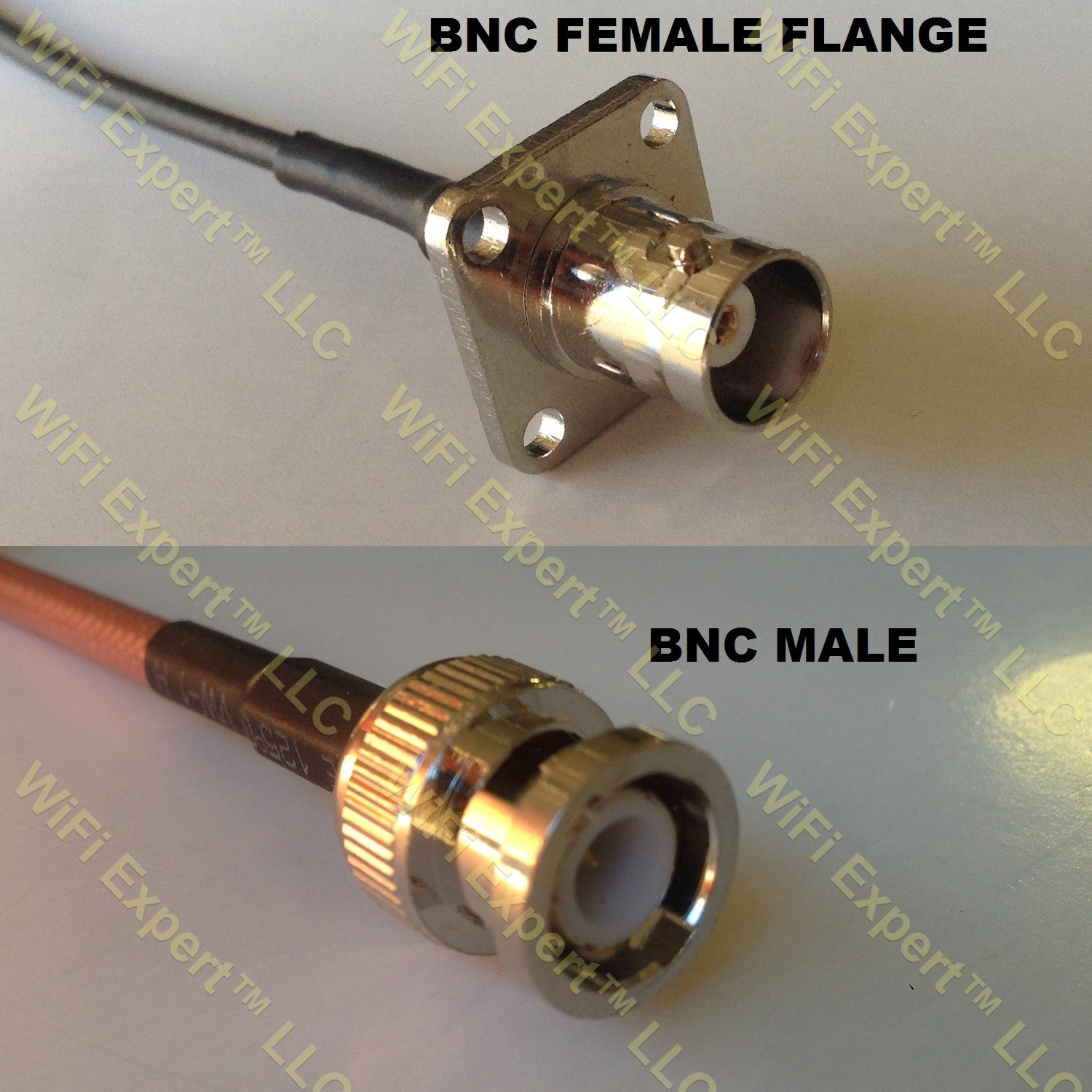 USA-CA RG316 BNC Flange Female to TS9 ANGLE MALE Coaxial RF Pigtail Cable