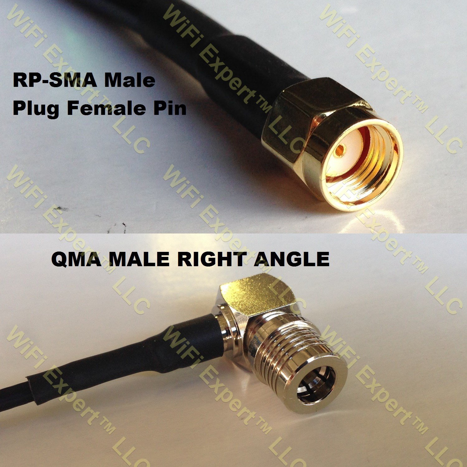 USA-CA RFC240UF PL259 UHF MALE to N MALE Coaxial RF Pigtail Cable