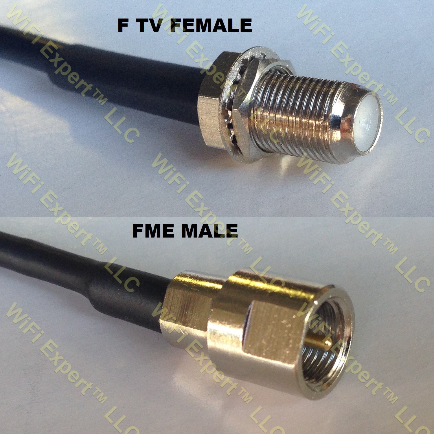 USA-CA LMR100 BNC MALE to SMC FEMALE Coaxial RF Pigtail Cable